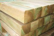 Holzpfosten 9 x 9 cm
