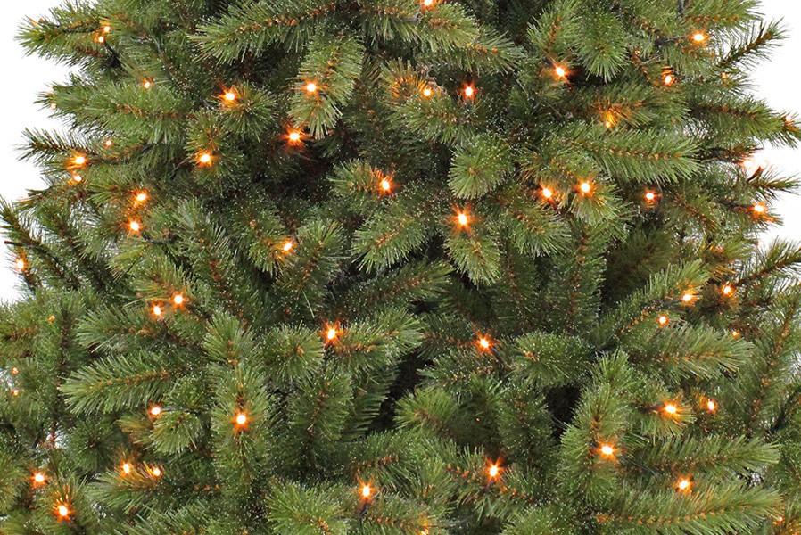 Künstlicher Weihnachtsbaum Mit Licht.Kunsttannenbaum Bristlecone 1 55 M Grün Durchmesser 99 Cm