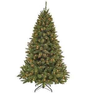 Künstlicher Weihnachtsbaum Bristlecone 2,15 m LED + Flash
