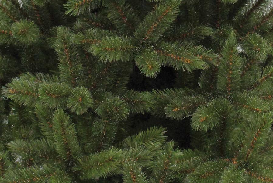 K nstlicher weihnachtsbaum 210 cm gr n mit frost hartnadel - Weihnachtsbaum kiefer ...