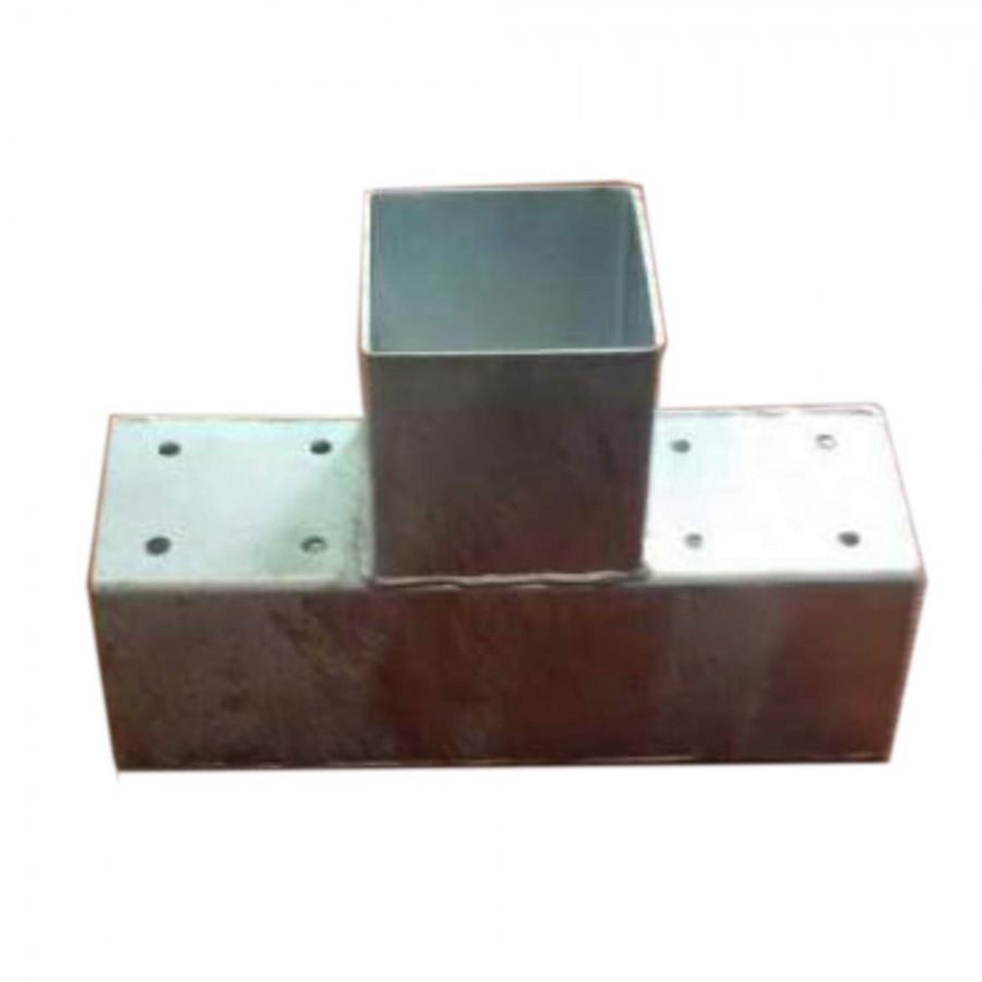 Holzverbinder T-Form für 3x Balken 90x90