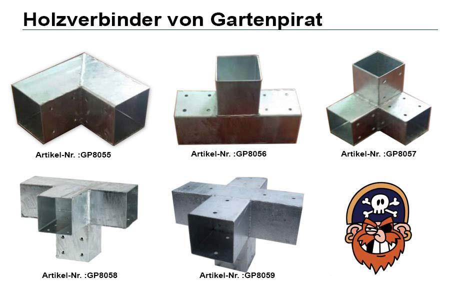 Gut gemocht Verbinder für Holzpfosten Modell Quadrat 9x9 Holzverbindung AP71