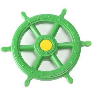 Steuerrad für Schiff Kunststoff in Farbe apfelgrün