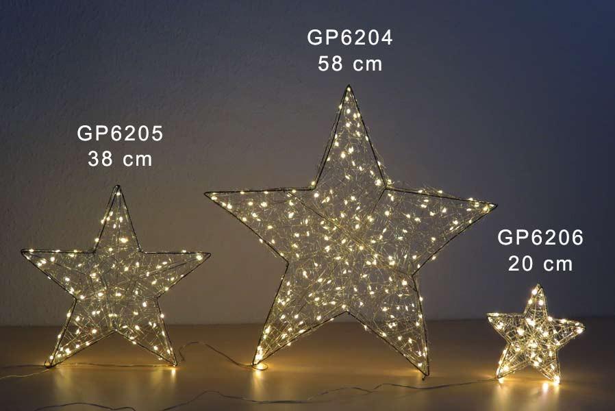 fensterstern 38 cm beleuchtet weihnachtsstern mit 80 led drahtstern weihnachten ebay. Black Bedroom Furniture Sets. Home Design Ideas