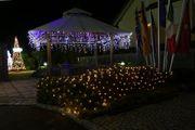 Lichternetz Weihnachten
