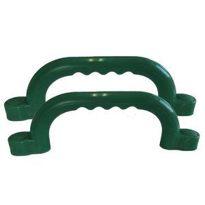 Haltegriffe für Spielturm Farbe grün Set mit 2 Stück