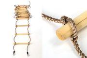 Strickleiter mit 16 Sprossen Länge 560 cm