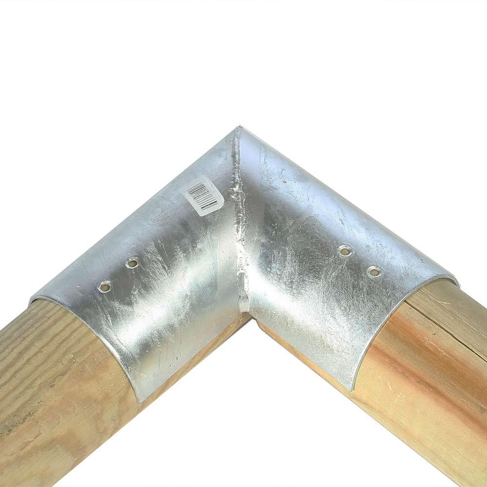 Holzverbinder für 2x Balken rund Ø 10 cm