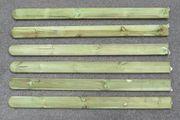 Zaunbretter aus Holz imprägniert
