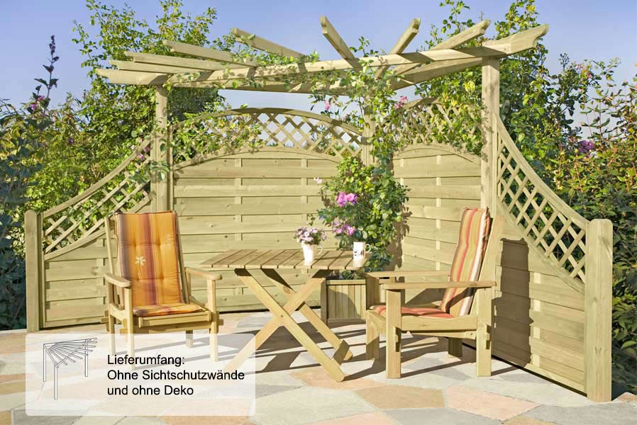 Eckgestaltung Für Den Garten ...