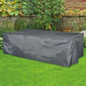 Schutzhülle für Garten-Sitzgruppe ca. 350x150x95 cm