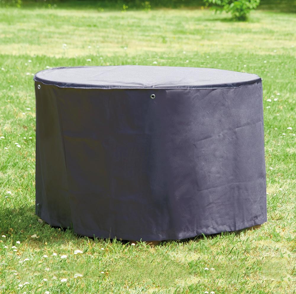 Schutzhülle rund Ø ca. 200 x 95 cm für Gartentisch