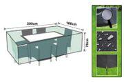 Abdeckplane für Rattan-Möbel