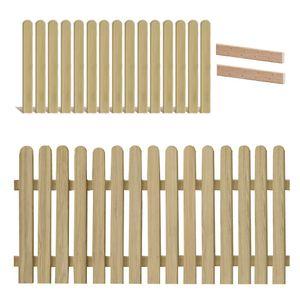 Holzpaket für Lattenzaun Lärche 180x80