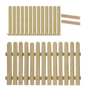 Holzpaket für Lattenzaun Lärche 180x90