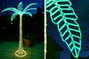 Palme aus Lichtschlauch