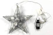 Weihnachtsstern mit LED und Stromanschluss