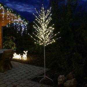 LED-Baum 2,4 m hoch für außen