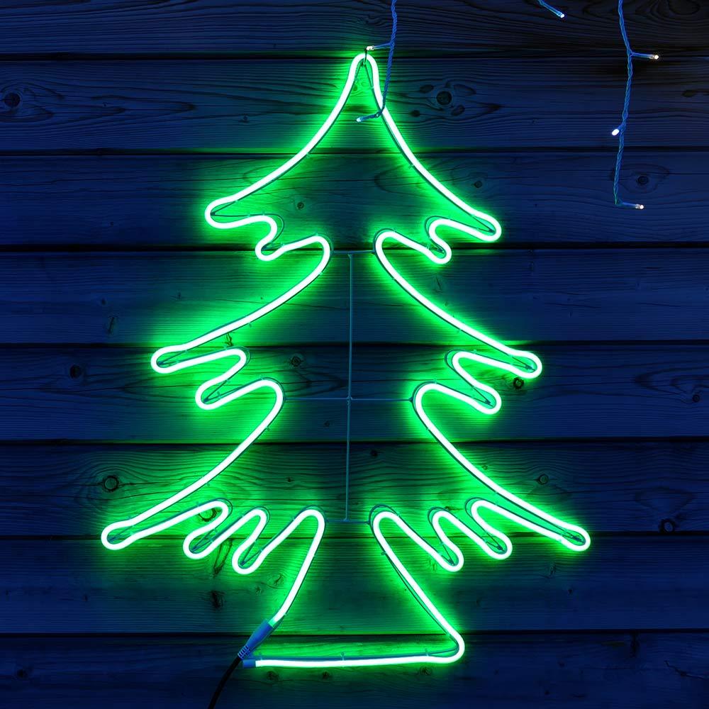 Tannenbaum als LED-Figur für Weihnachten