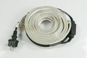 Lichtschlauch aufgerollt mit Kabel