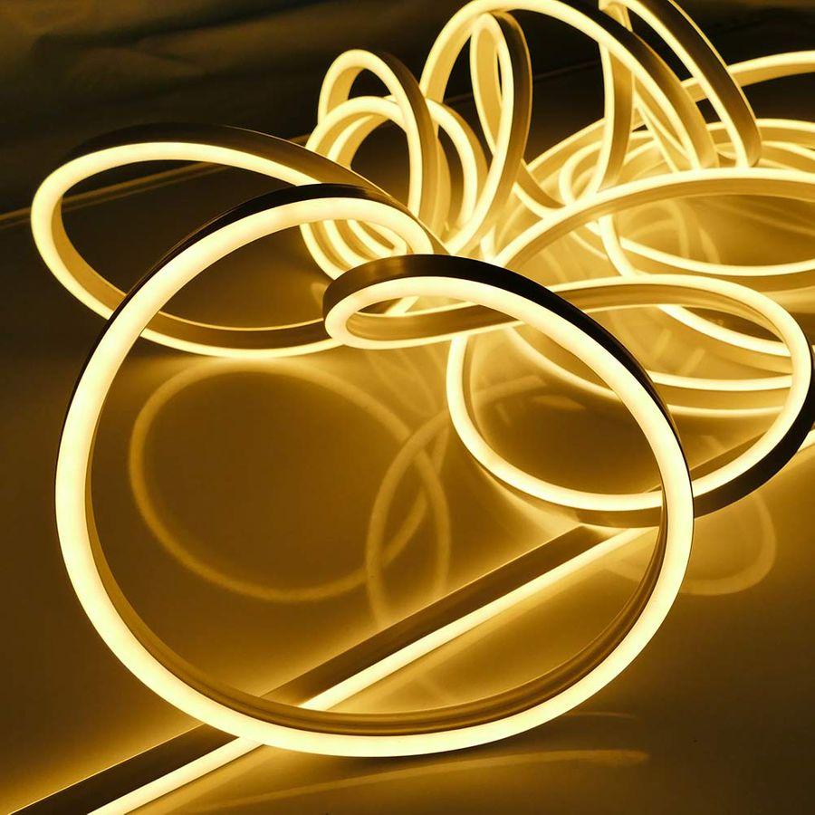 neon lichtschlauch warmwei mit 1080 led. Black Bedroom Furniture Sets. Home Design Ideas