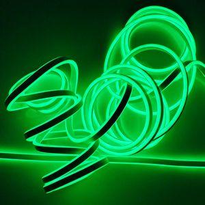 Neon Lichtschlauch 9 m grün mit 1080 LED IP44