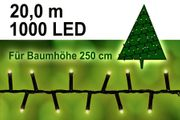 1000 LED Lichterkette