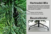 B-Ware Künstliche Tanne 180 cm BonTree Weihnachtsbaum PE/PVC-Mix