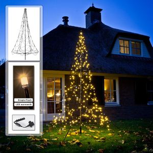 B-Ware - Weihnachtsbaum 3 m 360 LED warmweiß Single Flash