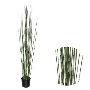 Kunstpflanze Bambus Gras 150 x 17 cm