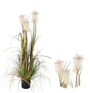 Kunstpflanze Federgras Foxtail 120 x45 cm
