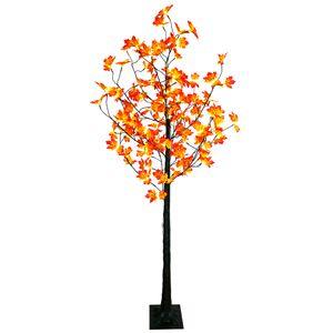 LED-Baum 190 cm mit Ahorn-Blätter 120 LED mit Timer