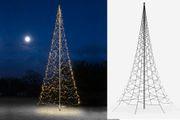 Weihnachts-Lichterkette für Fahnenmast bis 10 m Höhe