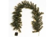 Weihnachtsgirlande Tanne mit Batteriefach