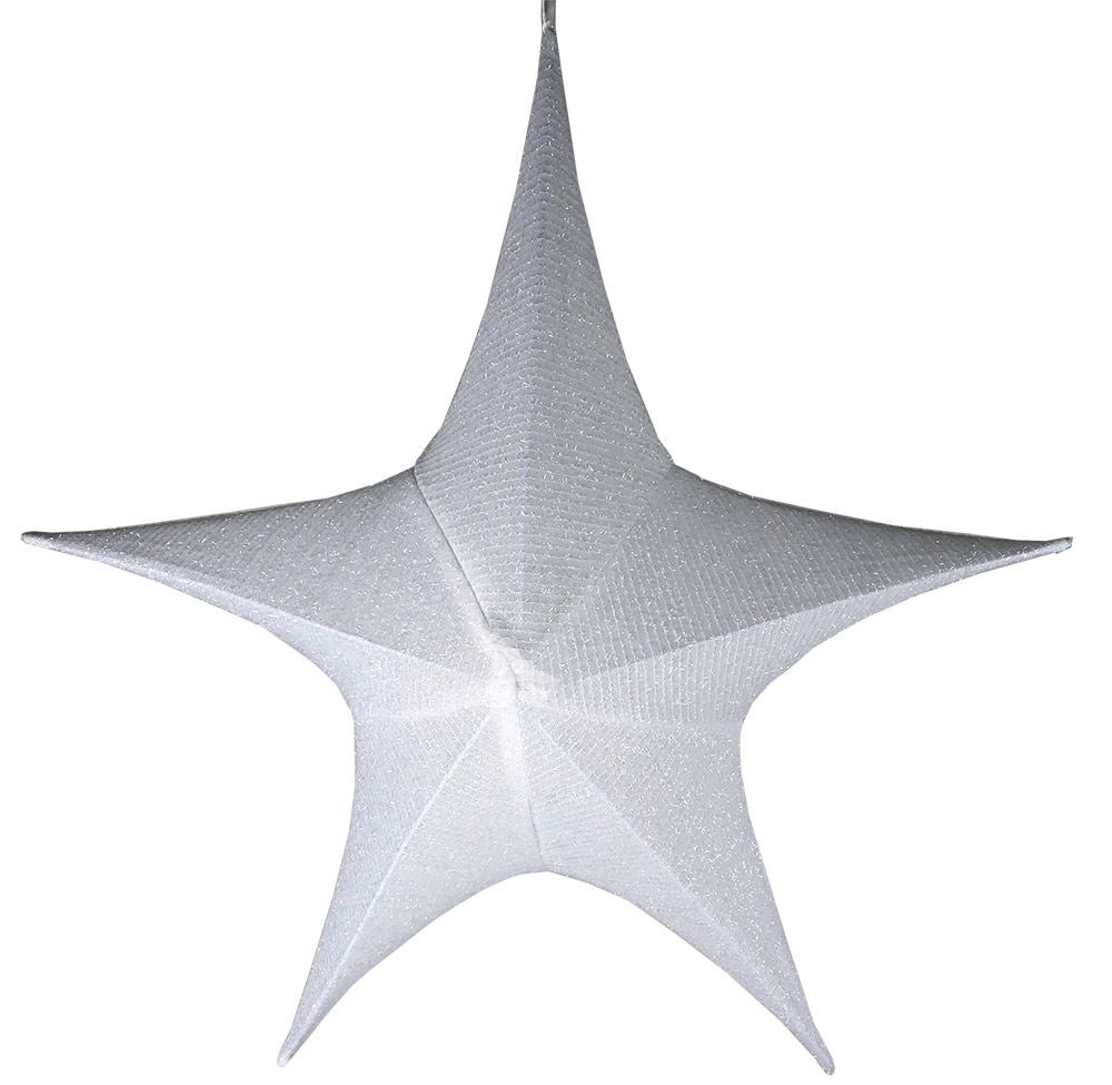 Deko-Stern groß, Farbe weiß