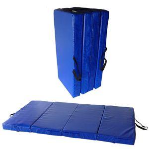 Turnmatte Bouldermatte 4-teilig 200 x100 x 10 cm tragbar nach EN1176