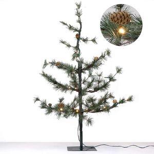 Künstlicher Weihnachtsbaum Pinie 90 cm mit Beleuchtung