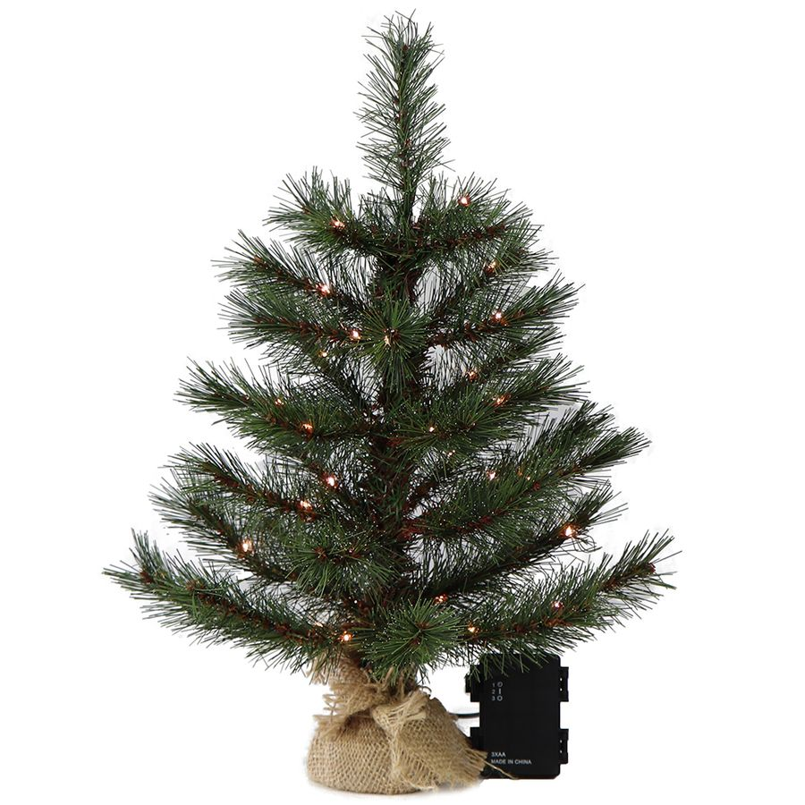 mini christbaum 45 cm mit led. Black Bedroom Furniture Sets. Home Design Ideas