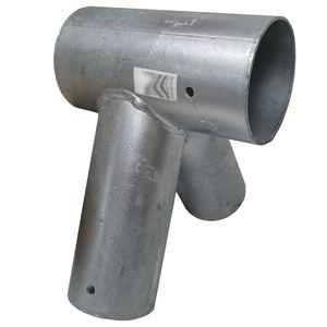 Schaukelverbinder Metall für Rundholz 100/80 mm