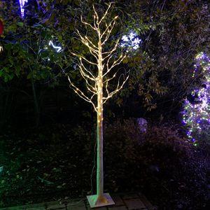 LED-Baum Birke 210 cm 180 LED für außen mit Timer