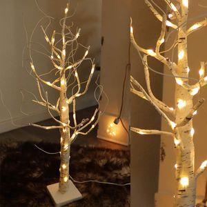 LED-Baum Birke 45 cm 54 LED mit Timer