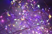 Micro-LED-Eisregen mehrfarbig
