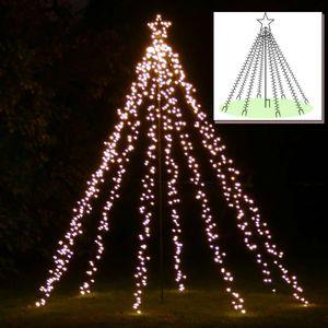 LED-Baum 200 cm hoch mit Stern 660 LED