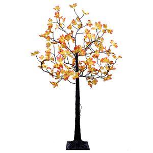LED-Baum 150 cm mit Ahorn-Blätter 96 LED mit Timer