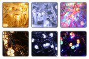 Lichterketten-Farben für Weihnachtsbeleuchtung aussen