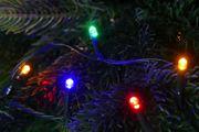 Lichterkette bunt für Baumbeleuchtung aussen