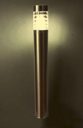 Standleuchte Saturn Edelstahl E27 1100mm 36995