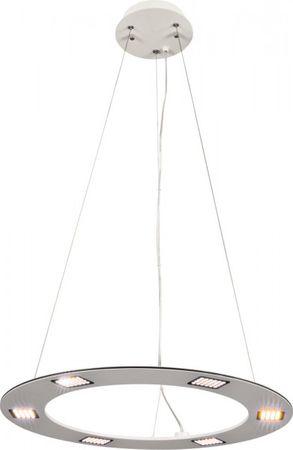 LED Pendelleuchte Style weiß Ø 60 cm 6x4,8 W