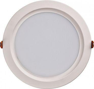 LED Einbaupanel rund 20W warmweiß Ø 19,5cm dimmbar