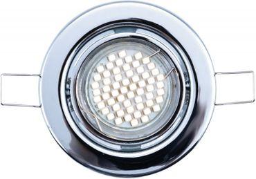 LED Einbaustrahler 5er Set SAN DIEGO, 5x3 W, chrom, GU5,3